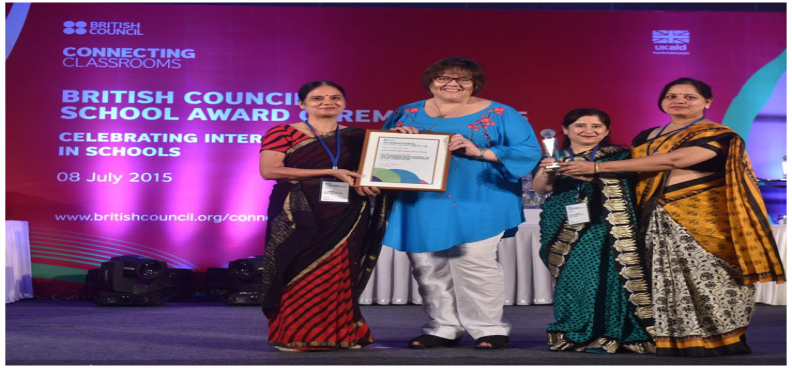 Awarded with International School Award, British Council 2015-20